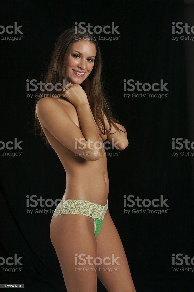 Colorful Panties Series royalty-free stock photo