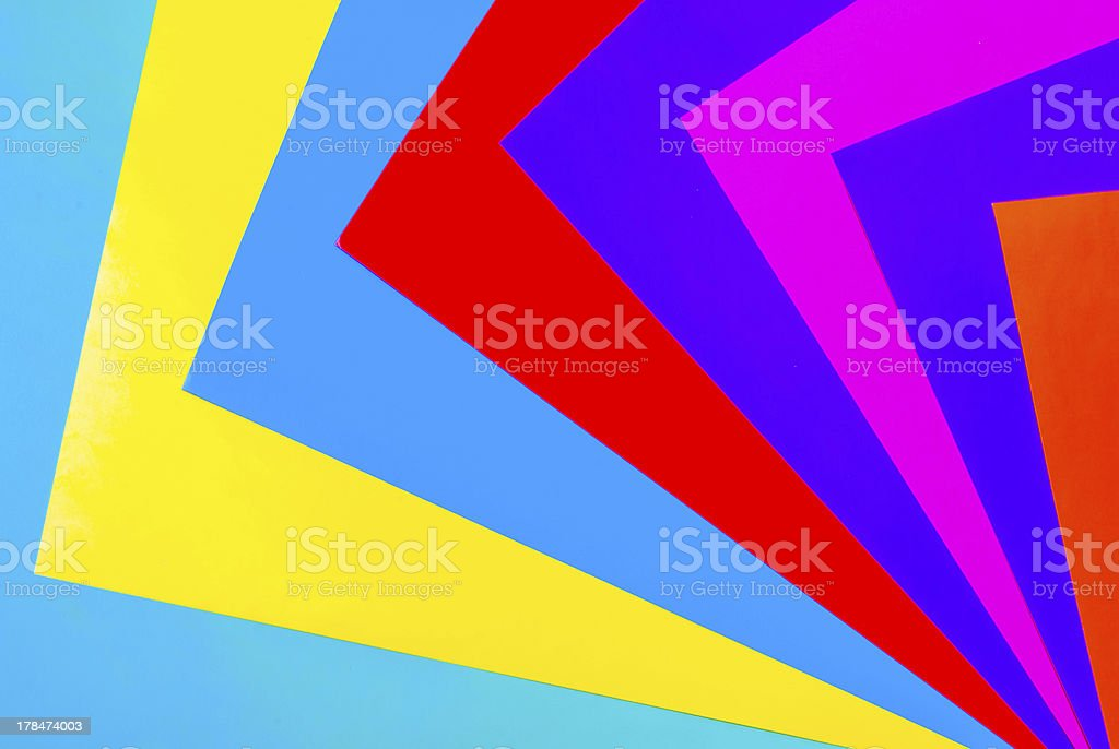 Colorful paper. Abstract background royalty-free stock photo