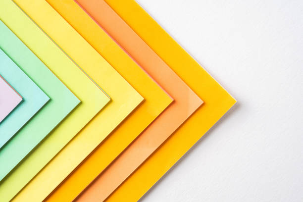 Farbigen Papierhintergrund für Mockup – Foto