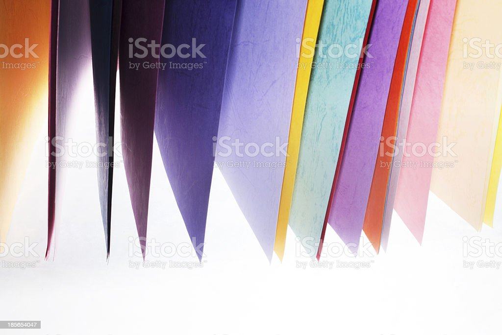 colorful paper royalty-free stock photo