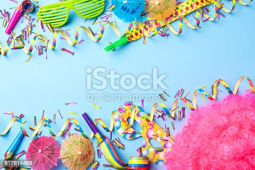 istock Colorful party background 817814488