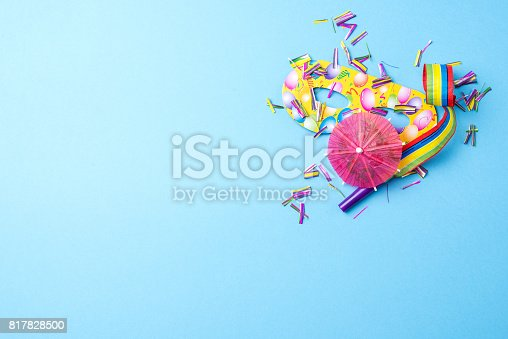 istock Colorful party background 817828500