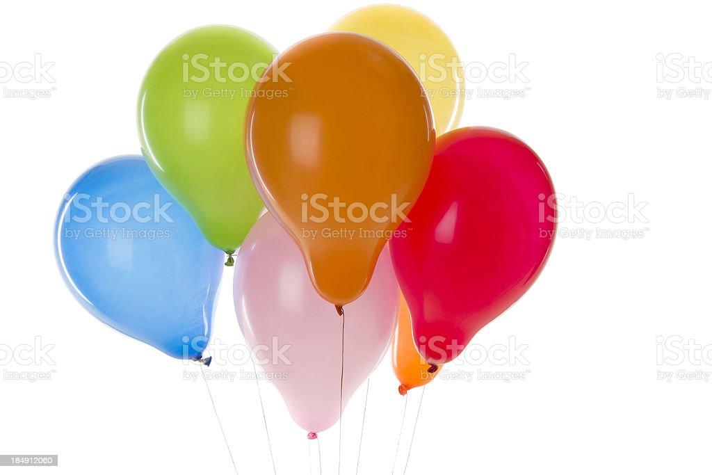 Strony kolorowe Balony zbiór zdjęć royalty-free