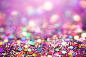 istock Colorful party confetti glitter background macrophotography with selective focus and copy space 1281062080