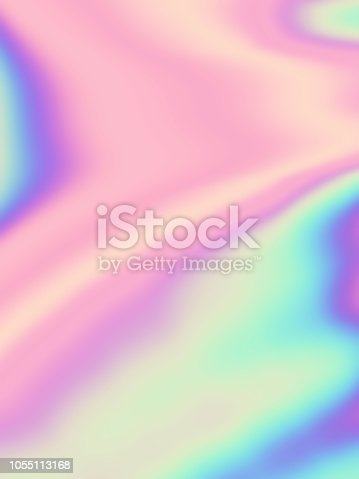 Colorful pastel background Holographic foil Multi colored gradient Blurred pattern Rainbow template Hologram wallpaper Copy space Fractal Art