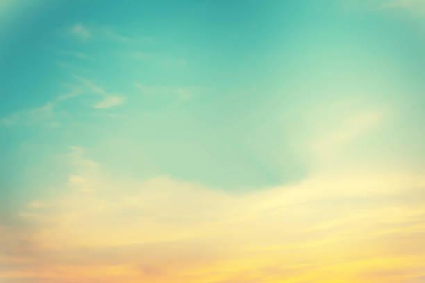 colorful pastel  sky  background stock photo