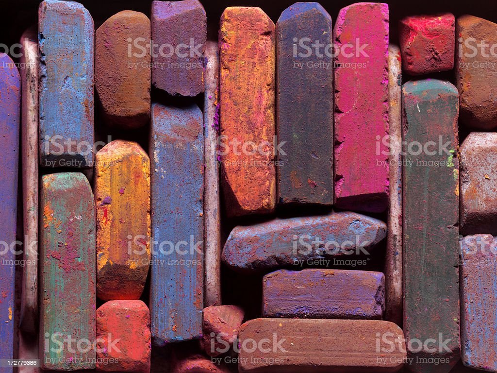 Colorful Pastels stock photo