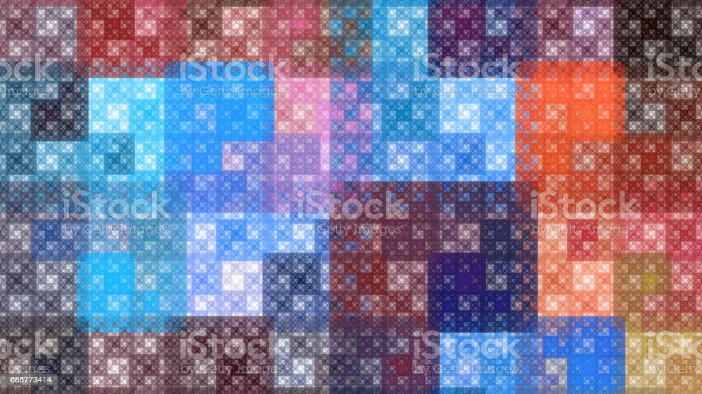 Colorful pattern fractal background royalty-free stock photo