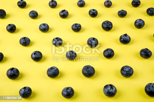 867774250 istock photo Colorful pattern of blueberries 1136009735