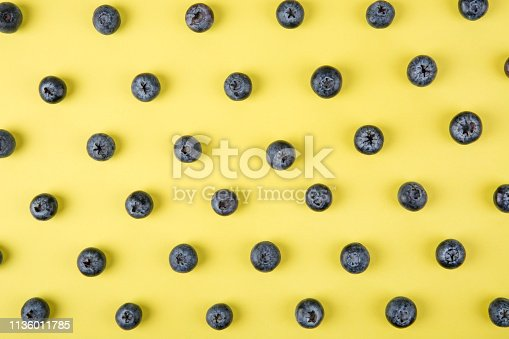 867774250 istock photo Colorful pattern of blueberries 1136011785