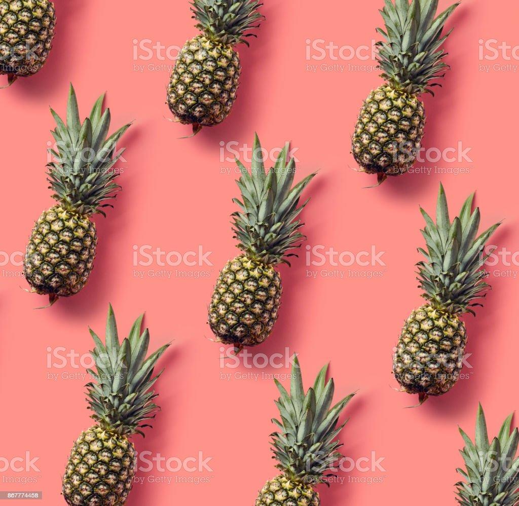 Bunte Muster von Ananas – Foto