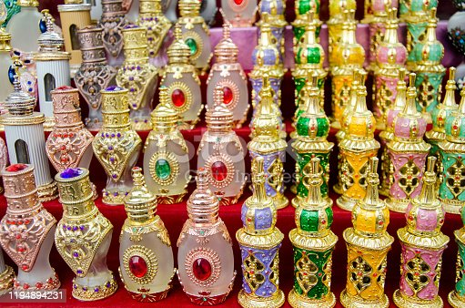 The Middle East is known for its spices, and fragrances.  There are many choices to choose from when it comes to perfumes. Not to mention that the bottles give a special touch to it.
