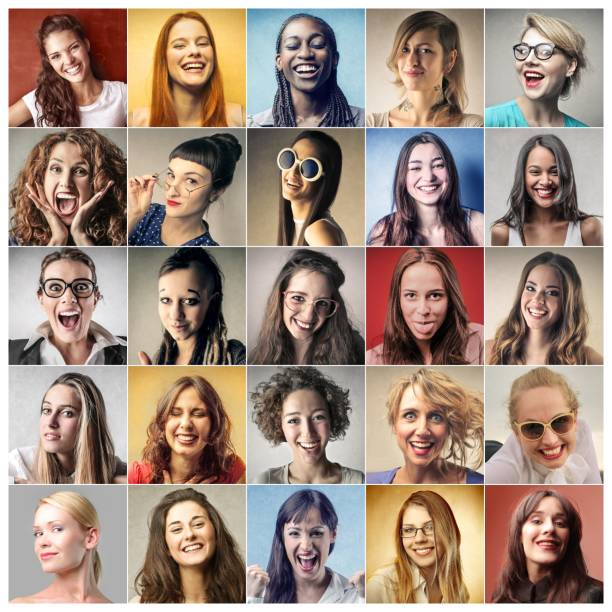 Colorful personalities Pictures of happy, young people mosaic stock pictures, royalty-free photos & images