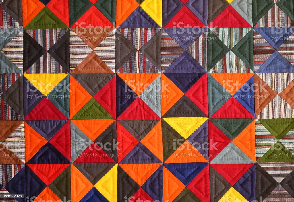 colorful photo background patchwork fabric stock photo