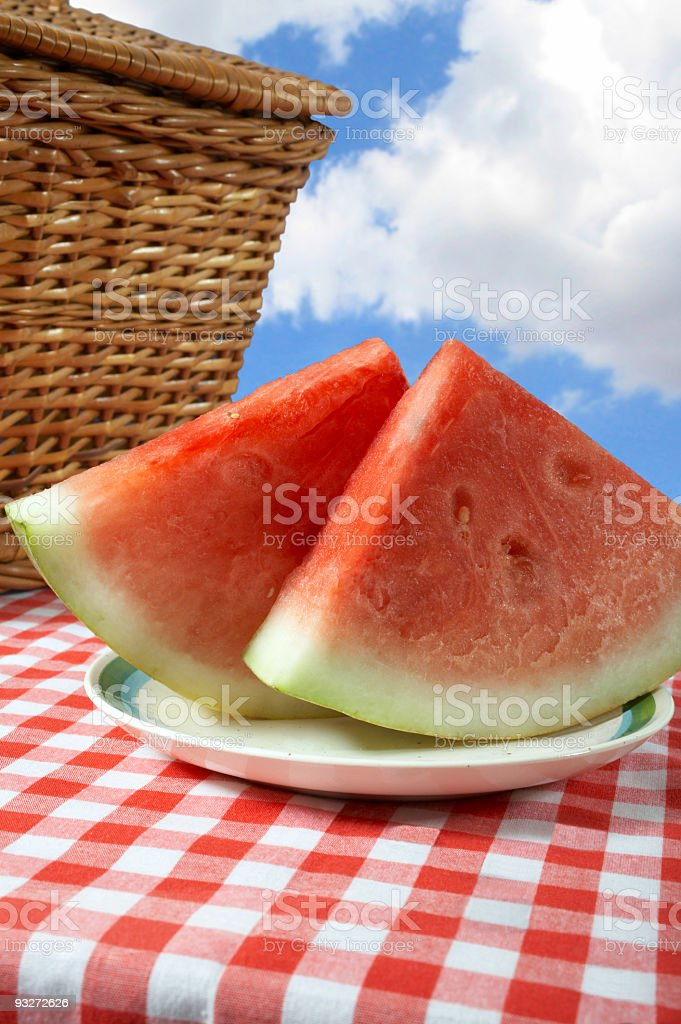 Colorful Picnic royalty-free stock photo