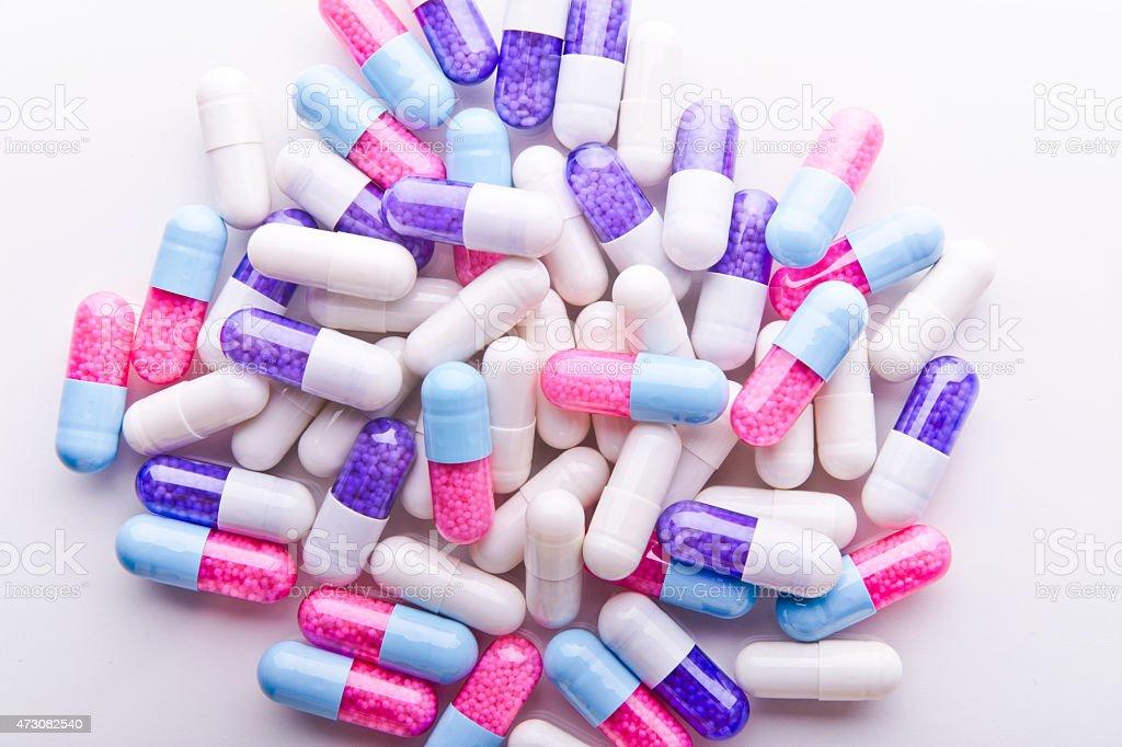Colorido pastillas - foto de stock
