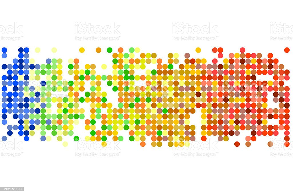 Colorful pixels design stock photo