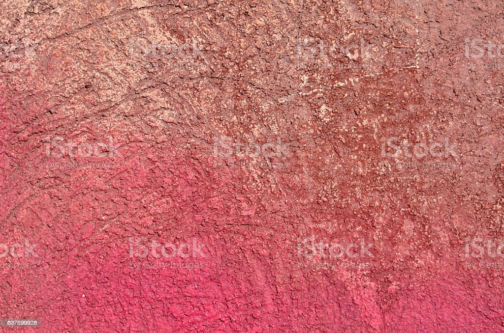Colorful plaster texture stock photo