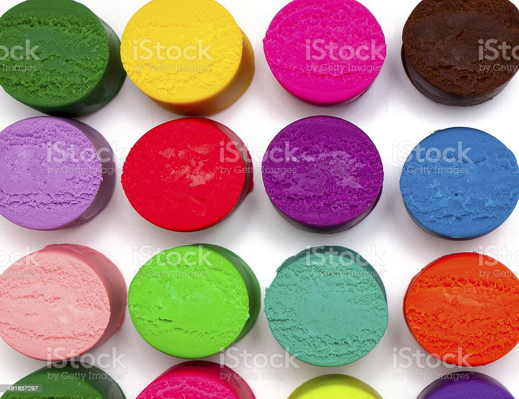 colorful plasticine stock photo