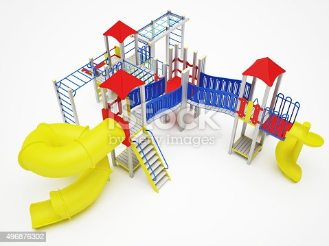 656743520istockphoto Colorful playground for children 496876302