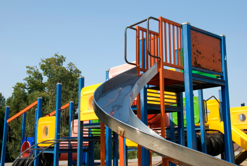 Colorful Playground Stock Photo - Download Image Now