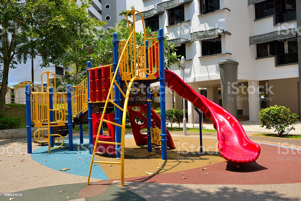 Colorful playground royalty-free stock photo