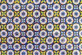 Colorful Portuguese Tiles - Azulejos