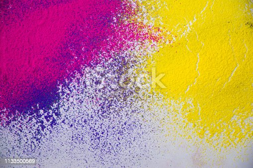 istock Colorful powder abstract background 1133500569