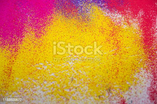 istock Colorful powder abstract background 1133500572