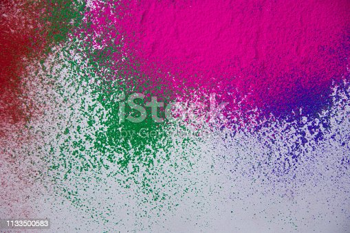 istock Colorful powder abstract background 1133500583