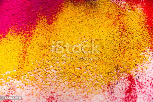 istock Colorful powder abstract background 1133500606