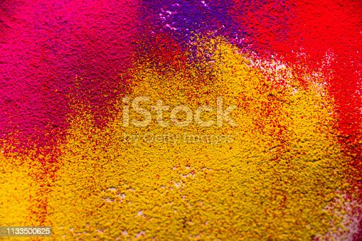 istock Colorful powder abstract background 1133500625