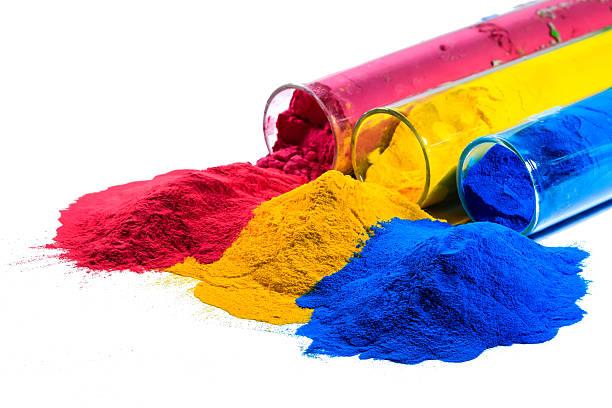 colorful powder coating – Foto