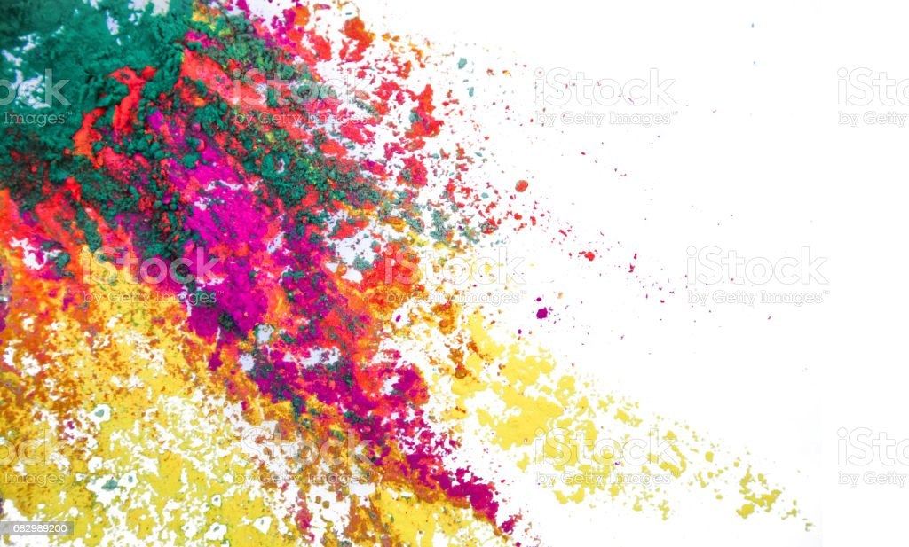 Colorful Powder Paint foto de stock royalty-free