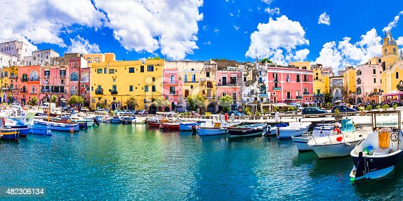 Colors Of Mediterranean Series,Procida Island,Italy.