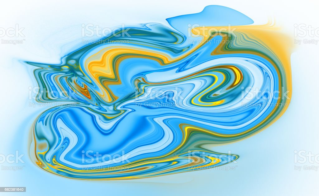 Colorful psychedelic liquefied background foto stock royalty-free