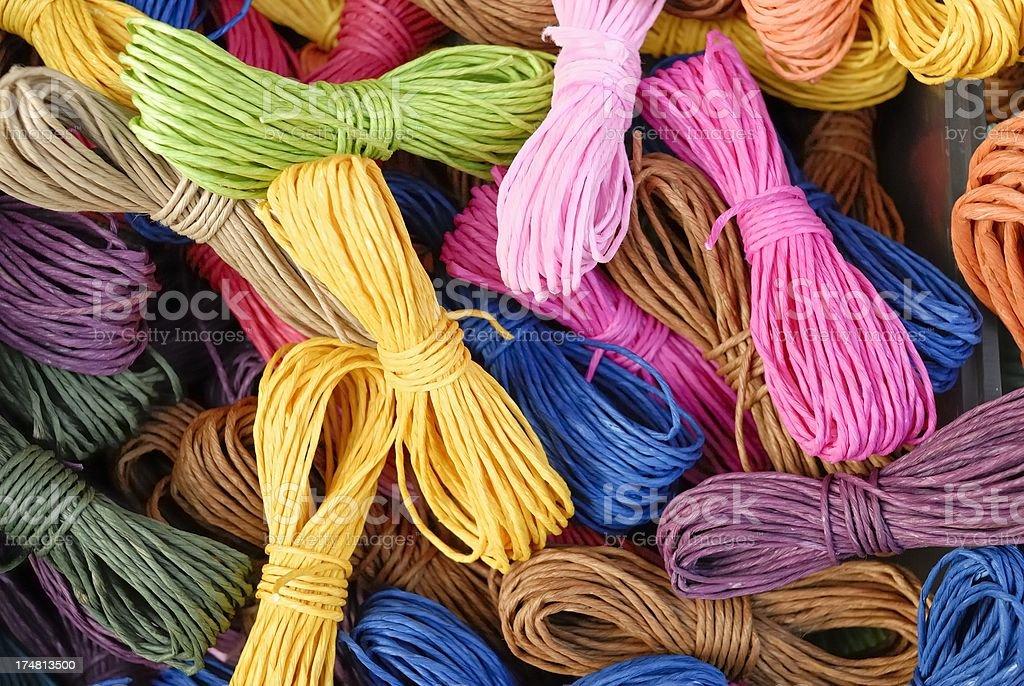 Colorful Ribbons royalty-free stock photo