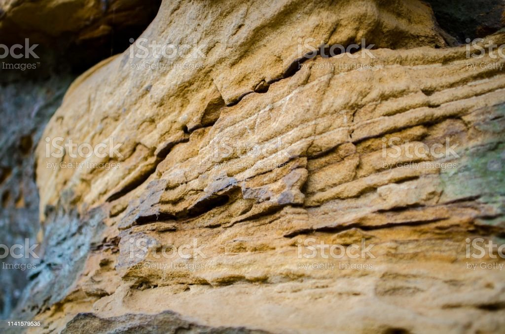 A colorful rock pattern stock photo