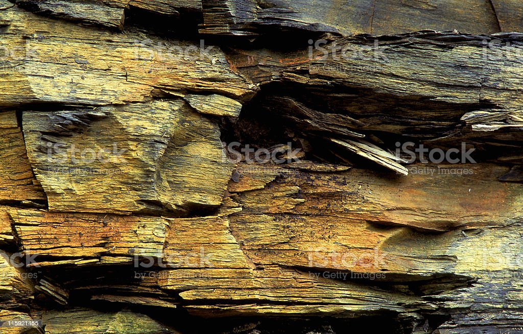 colorful rock slate stock photo