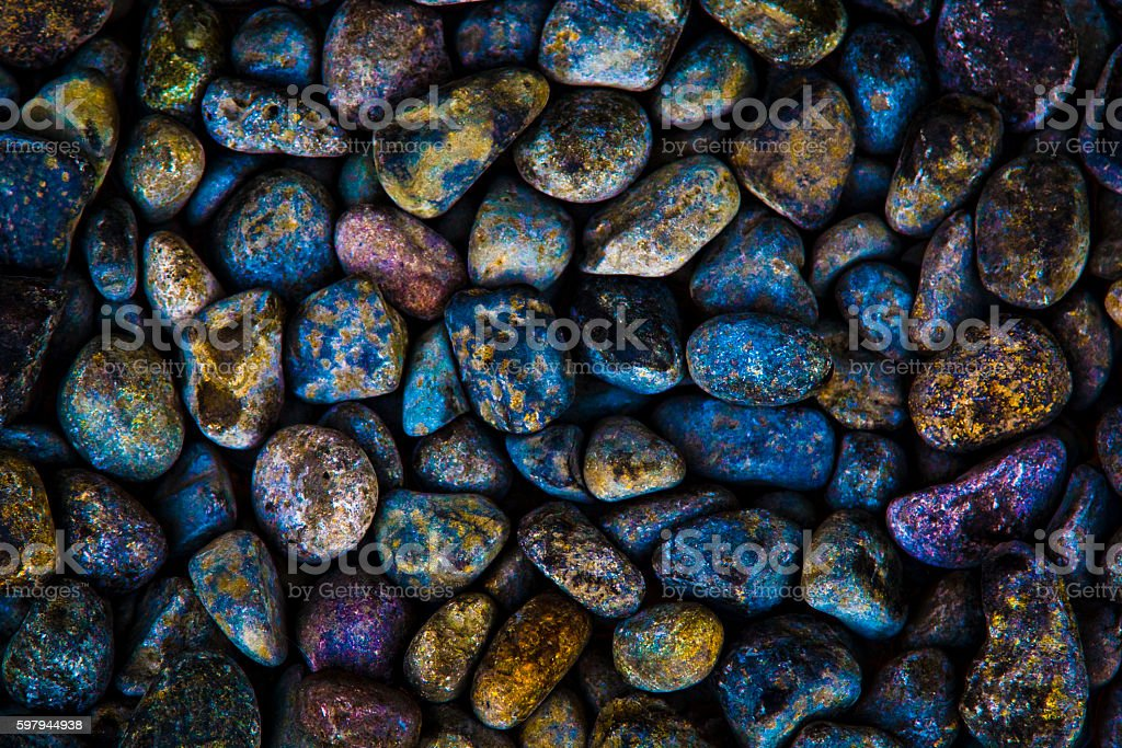 Colorido Rocks foto royalty-free