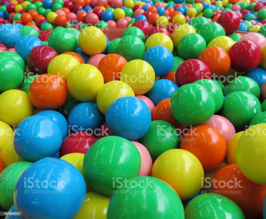 Colorful round Gum stock photo