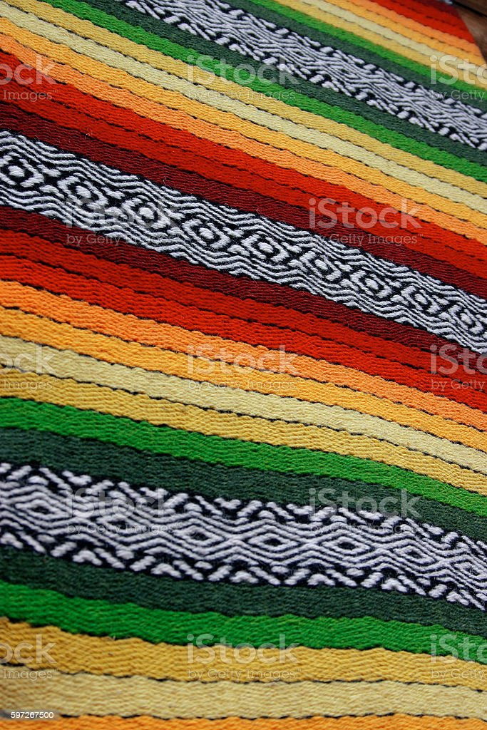 colorful rug royalty-free stock photo
