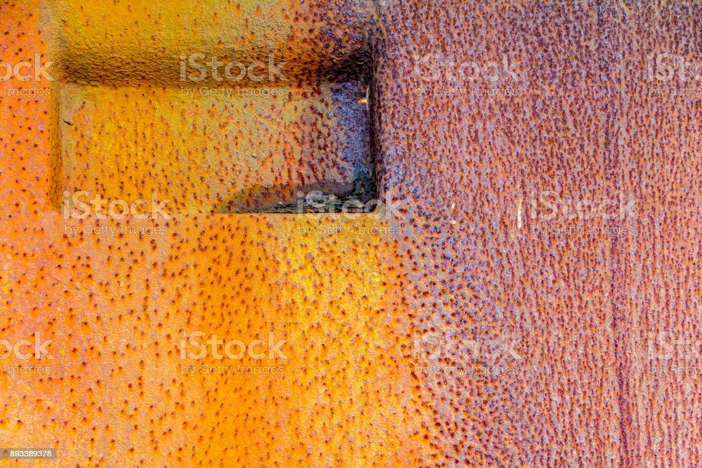 colorful rusty metallic background stock photo