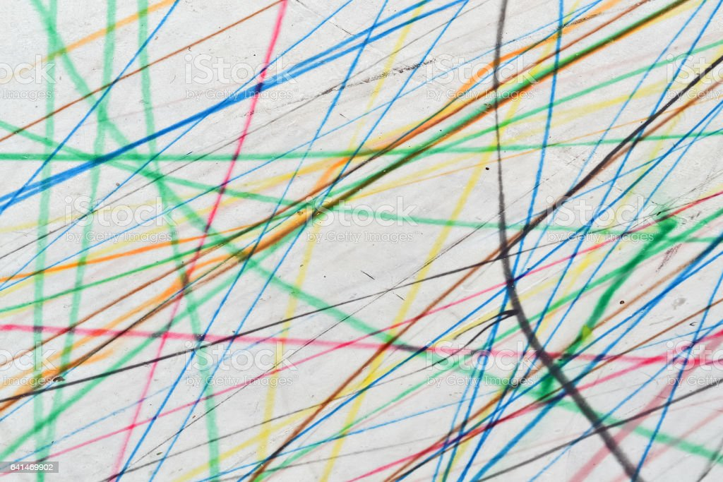 Colorful scribble background stock photo
