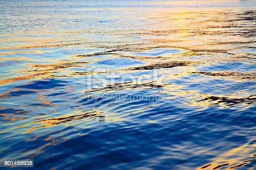 istock Colorful sea water surface 801459938