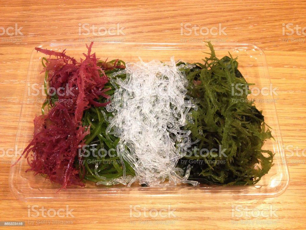 algas de colores - foto de stock