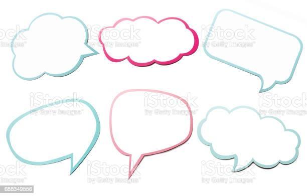 Colorful set of different speech bubble as a cloud isolated on empty picture id688349556?b=1&k=6&m=688349556&s=612x612&h=xqnekrj1s3q566xc  uu2hz1nem2cj6jmu3z4dqugk4=