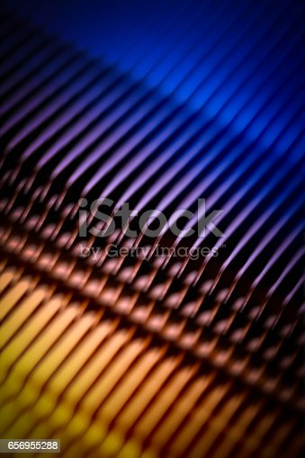 istock colorful, shine, metal texture with aluminium cooling fins 656955288
