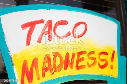 Colorful Sign: