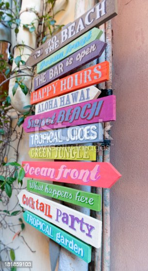 521911567 istock photo Colorful Signpost 181859103